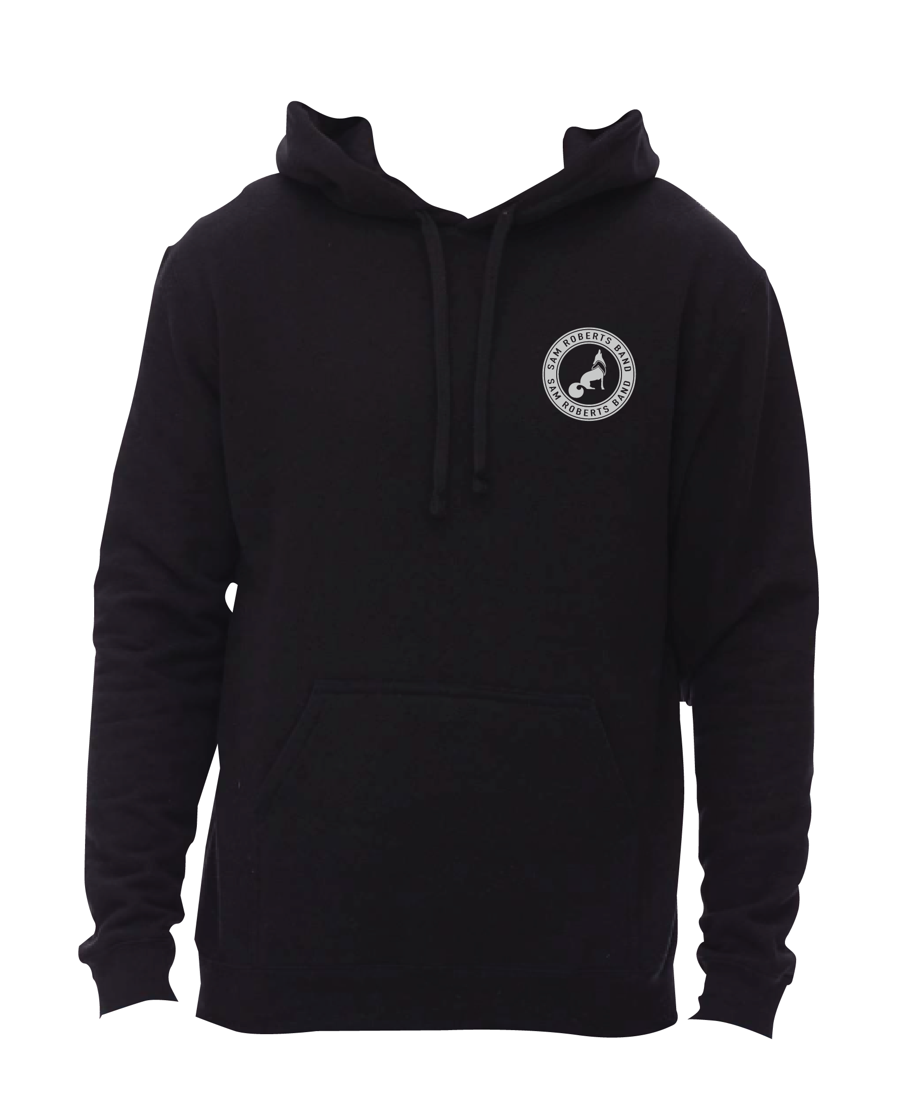 SRB Wolf Hoodie Front